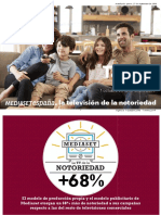 Tarifas Mediaset -Oct-18 - 7 Ene-19