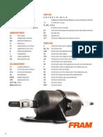 Catálogo FRAM