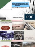 """""""Desempeño Sísmico de Un Puente Continuo Típico Con Aisladores Del Tipo Elastomérico y Friccional Deslizante"""""""