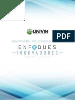 Memorias Congreso Virtual- Enfoques Innovadores