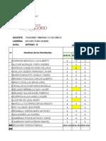 Horario Docentes-oscar Paladines 2018 - 2019