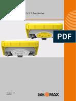 GeoMax Zenith15 25 Pro UM v1-1-0 En
