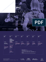Programa Semana Festival de Cannes 2018