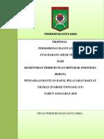 Cover Proposal Kapal 2019