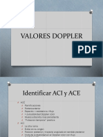 Valores Doppler
