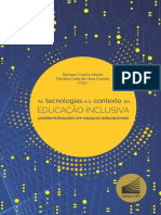 As Tecnologias e o Contexto Da Educação Inclusiva