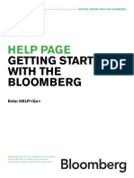 Bloomberg Terminal Guide