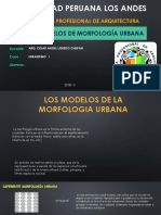 Exposicion Morfologia Urbana Grupo 1 Arq
