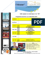 Programme Cinéma 48