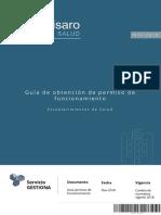 Guía Obtención Permiso Funcionamiento Establecimientos de Salud Ecuador