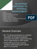 Framework of SAP Blueprinting