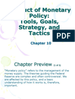 Chapter 10 Conduct of Monetary Policy (Chapter 10) Mishkin