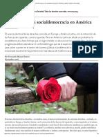 Suarez Fernando, ¿Qué Le Pasa a La Socialdemocracia en América Latina_Nueva Sociedad