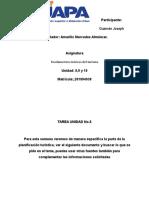 Tareas 8,9 10 Fundamentos Teóricos Del Turismo.