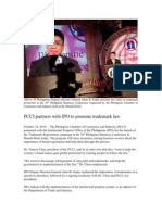 PCCI Partners with IPP to Promote Trademark Law
