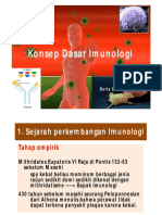 Sejarah Konsep Imunologi 4peb2015