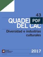 CAC 43 (ES) - Notas y Estudios Metodológicos Sobre Indicadores de Diversidad en La Producción Audiovisual