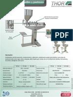 Ficha Tecnica Dosificadores y Liquidos Pastosos