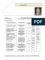 Prof Chowdari Prasad CV 26112018