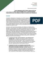 Comentários e recomendações para proposta de portaria do MDIC que estabelece o cronograma para metas de eficiência para os veículos pesados