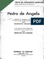 Pedro de Angelis en la cultura rioplatense - Trostiné, Rodolfo