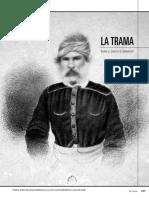 AMANTE, Adriana, La trama. Sobre El Chacho de Sarmiento