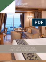 2011Premium Cruise Line Cost Comparison