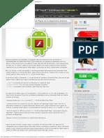 Instala la nueva versión de Flash Player en tu dispositivo Android - Androidgree.pdf