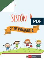sesion de educacion fisica primaria