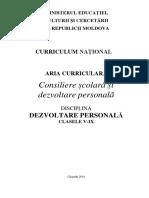 Dezvoltarea Personala 2018-08-06
