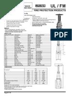 Válvula Compuerta OS&Y R-2361-6 18-20-24