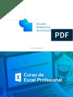 Brochure Curso de Excel Profesional