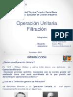PPT Operación Unitaria de Filtración.