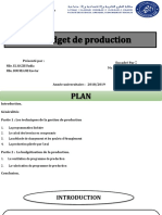 Budget de Production