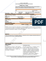 Informe Familia 2019 Modelo Escrito