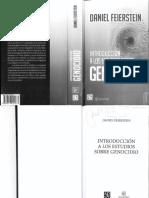 Feierstein 2 Introduccion a Los Estudios Del Genocidio