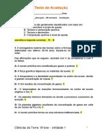 Teste de Avaliacao 1 -Respostas