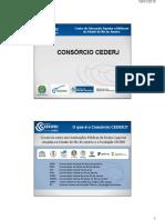 Apresentação Consórcio Cederj TUTORIA 2016 2 Novo