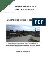 LIQUIDACION DE OBRA POR ADMINISTRACION DIRECTA