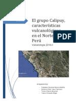 El Grupo Calipuy Características Vulcanológicas en El Norte Del Peru