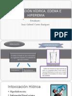 Intoxicacion hidrica, edema e hiperemia - Isaac Castro Grupo 11.pptx