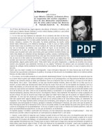Julio Cortázar - Mi ametralladora es la literatura