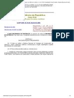 Lei Nº 9.985.2000 - _Regulamenta o Art. 225, § 1o, Incisos I, II, III e VII Da Constituição Federal, Institui o Sistema Nacional de Unidades de Conservação Da Natureza e Dá Outras Providências