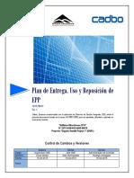 Plan de Entrega Uso y Reposición de EPP