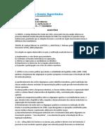 1º Simulado de Hist. Do Brasil Enem -Prof. Hilton 04.03.17 3º Ano