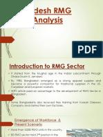 Statistical Analysis on Bangladesh RMG Export