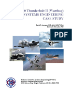 A-10 Thunderbolt II (Warthog) Systems Engineering Case Study
