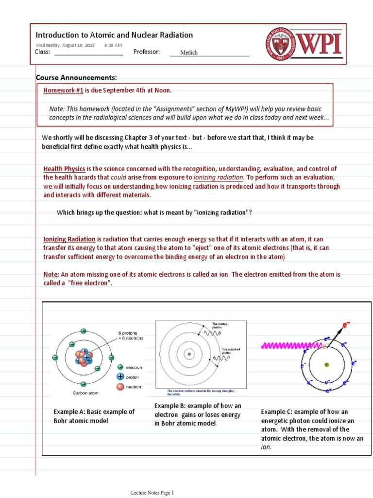 nuclear power homework mark rosengarten