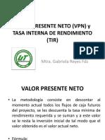 15. VPN y TIR