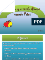 artes 2° básico Dibujar en Paint
